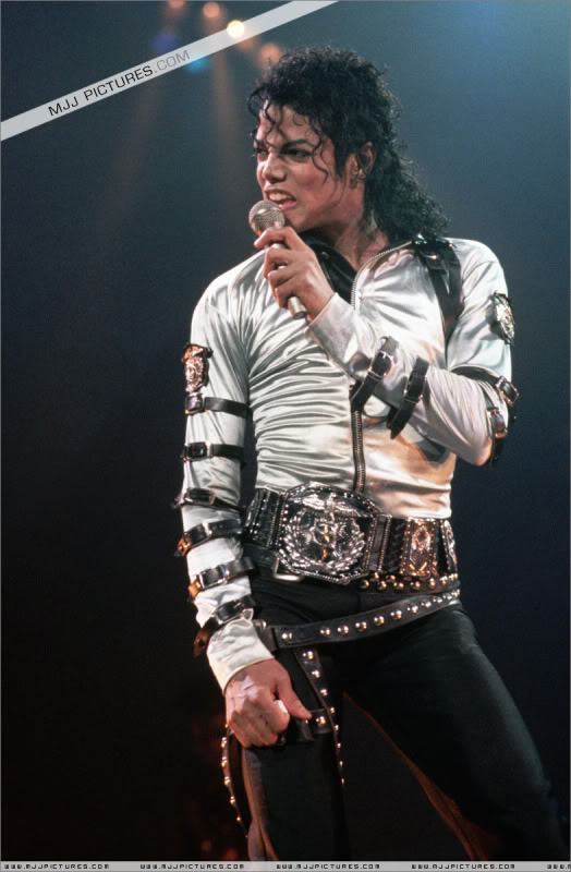 Bad World Tour Onstage- Various 022-1
