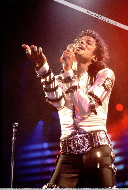 Bad World Tour Onstage- Various 025-1