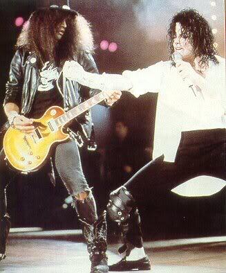 Dangerous World Tour Onstage- Black Or White 037-18