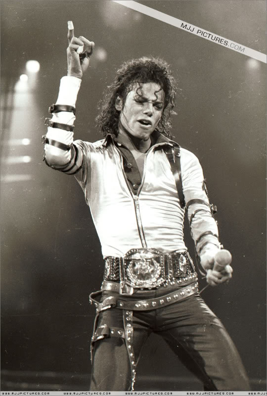 Bad World Tour Onstage- Various 040