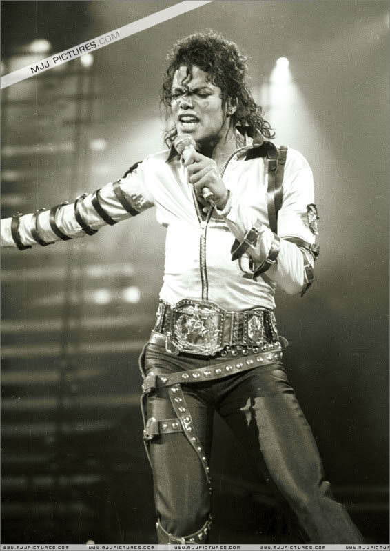 Bad World Tour Onstage- Various 041