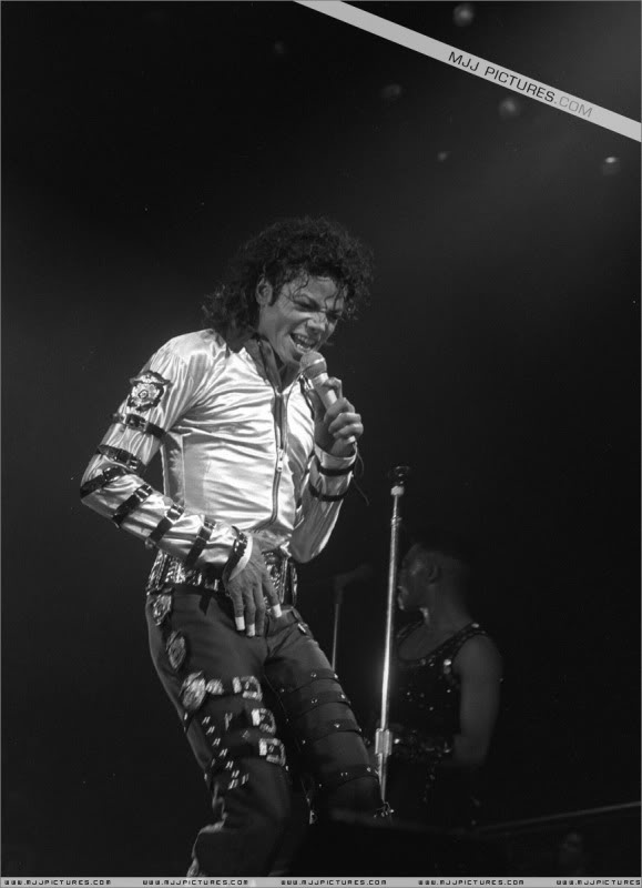 Bad World Tour Onstage- Various 043