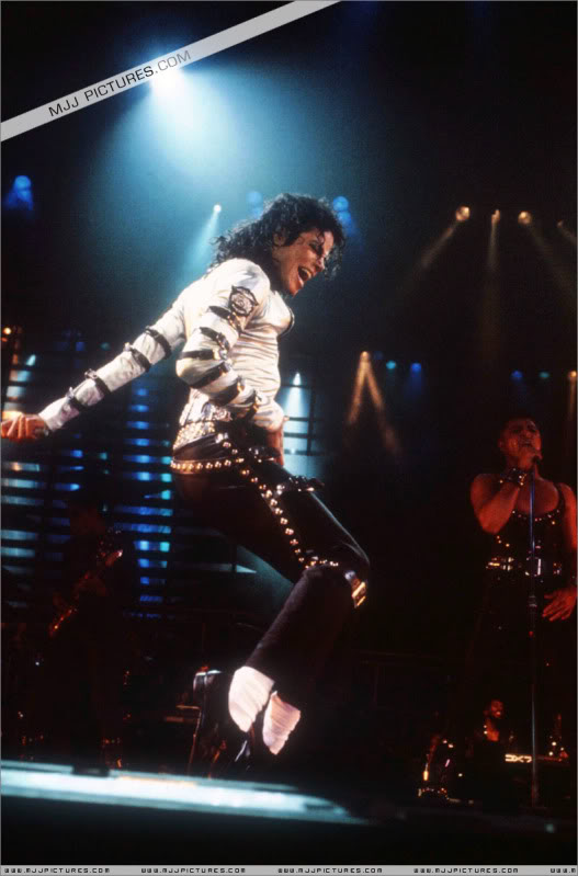 Bad World Tour Onstage- Various 044