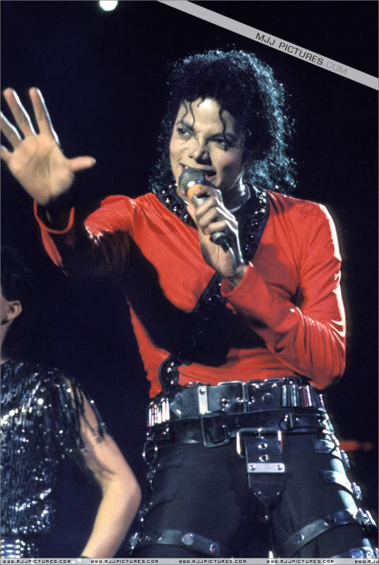 Bad World Tour Onstage- Various 045