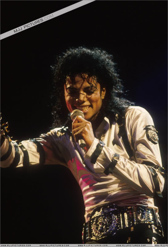 Bad World Tour Onstage- Various 050