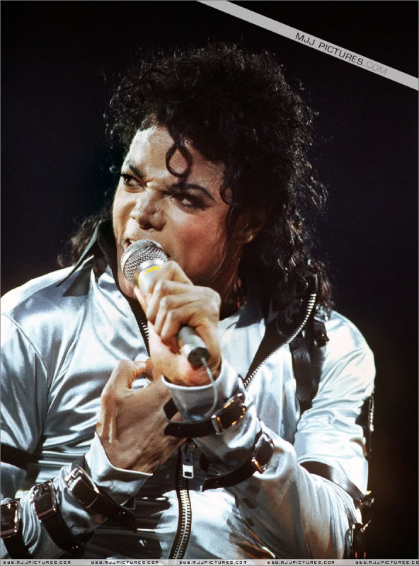 Bad World Tour Onstage- Various 051