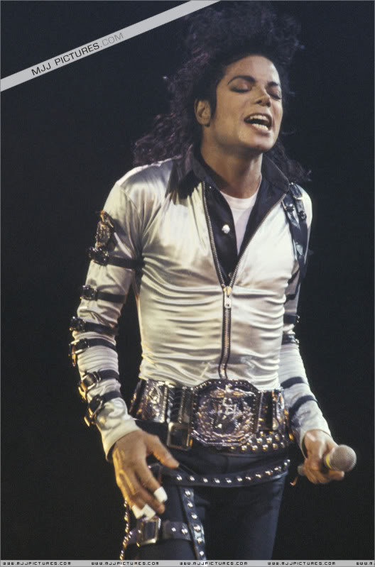 Bad World Tour Onstage- Various 053