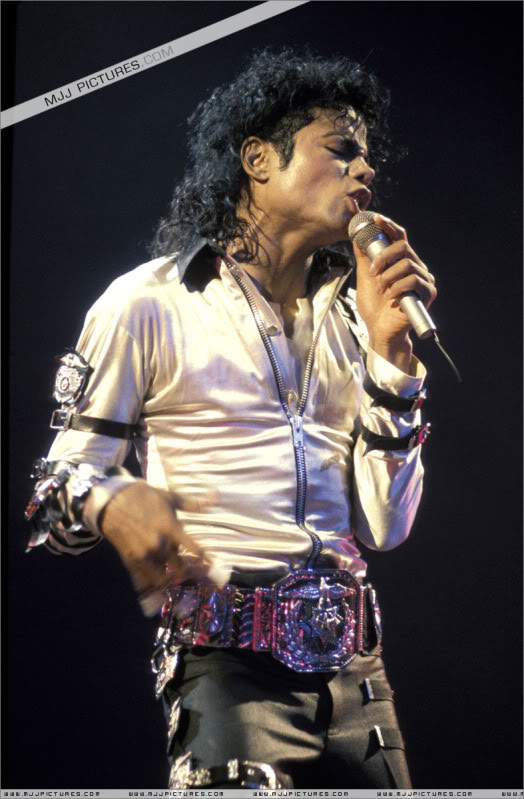Bad World Tour Onstage- Various 054