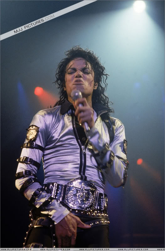 Bad World Tour Onstage- Various 065