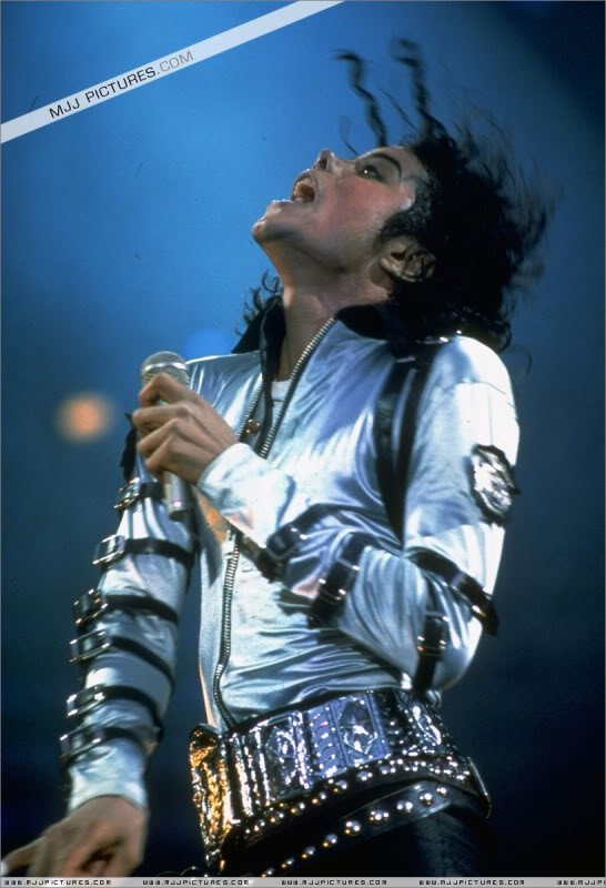 Bad World Tour Onstage- Various 068