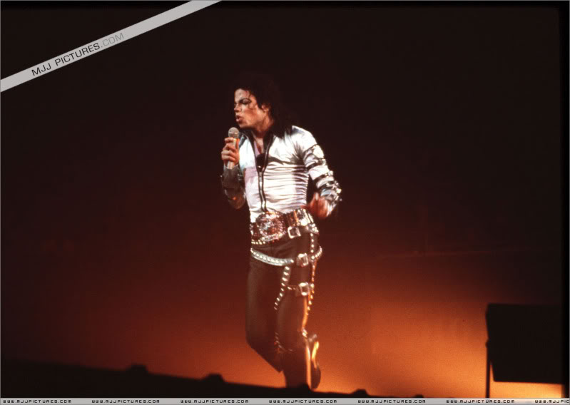 Bad World Tour Onstage- Various 074