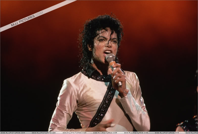 Bad World Tour Onstage- Various 075