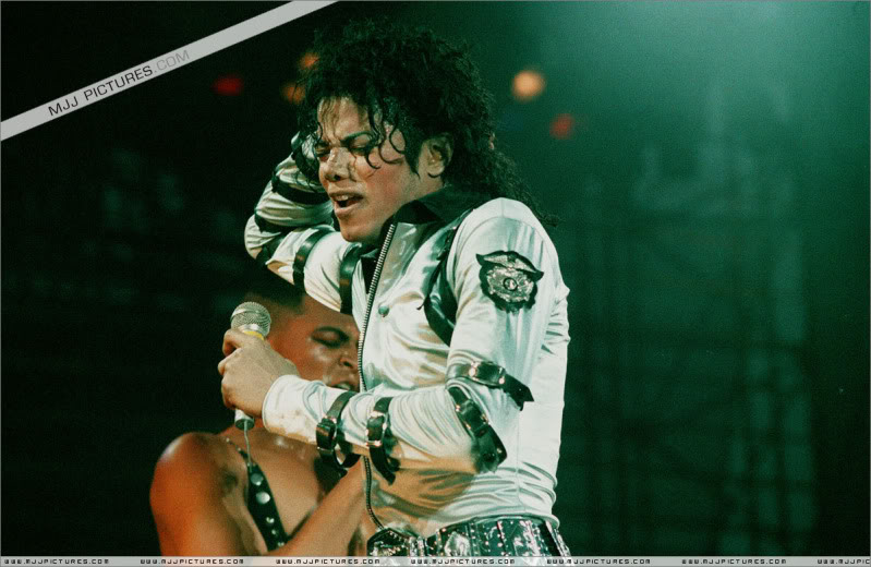 Bad World Tour Onstage- Various 079