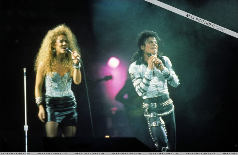 Bad World Tour Onstage- Various 080