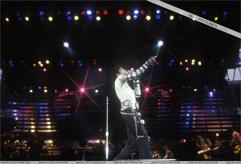 Bad World Tour Onstage- Various 081