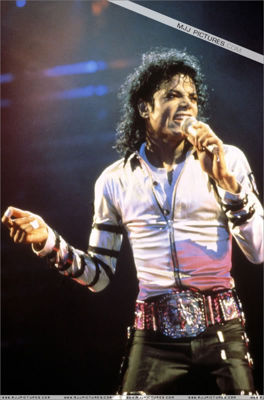 Bad World Tour Onstage- Various 084