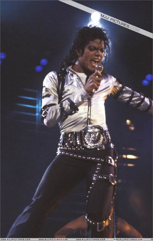 Bad World Tour Onstage- Various 086