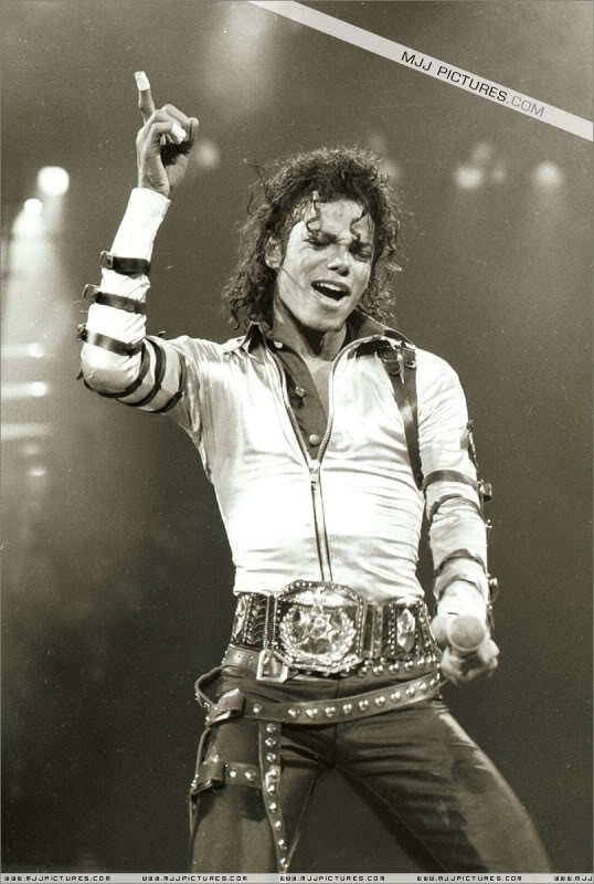 Bad World Tour Onstage- Various 089