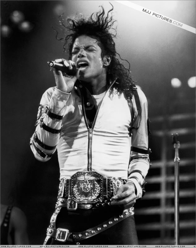 Bad World Tour Onstage- Various 093