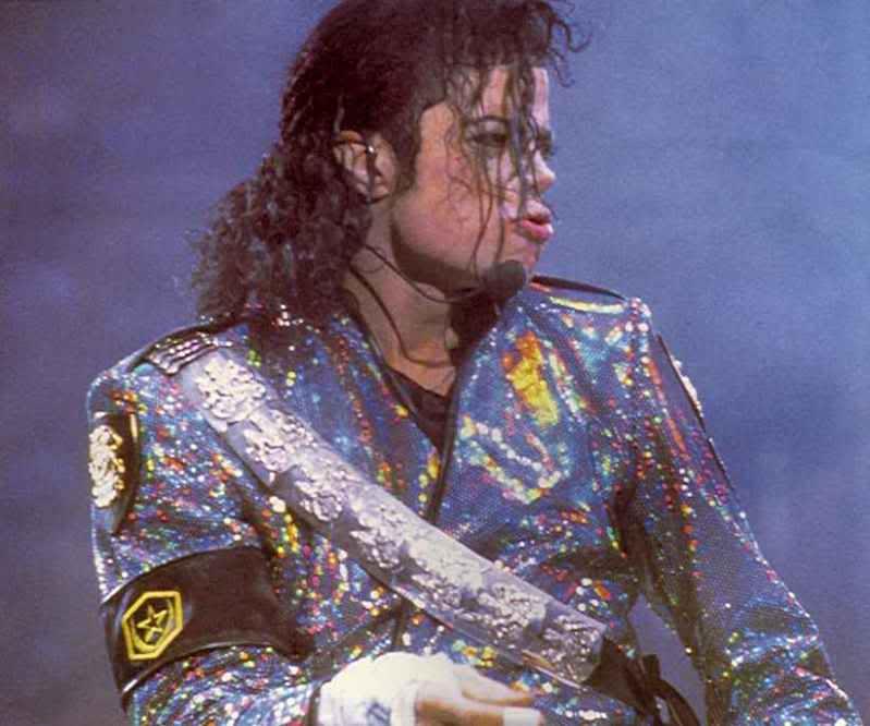 Dangerous World Tour Onstage- Jam 094-2