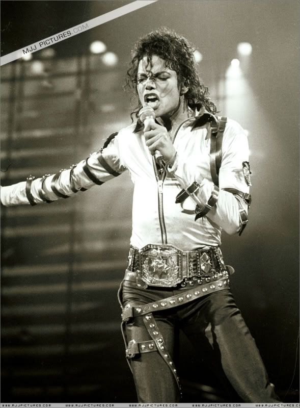 Bad World Tour Onstage- Various 095