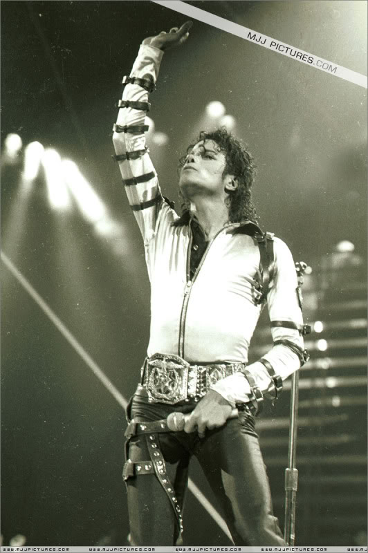 Bad World Tour Onstage- Various 096