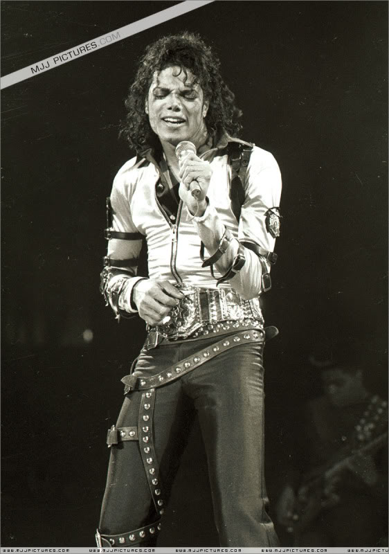 Bad World Tour Onstage- Various 097