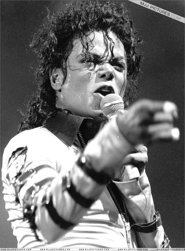 Bad World Tour Onstage- Various 098