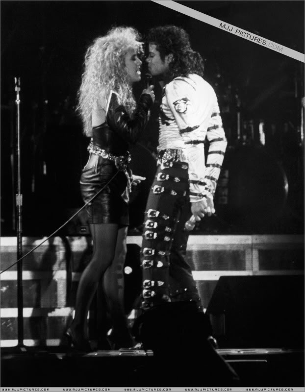 Bad World Tour Onstage- Various 099