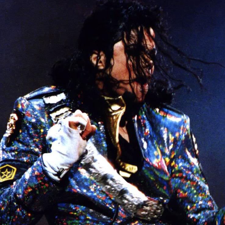 Dangerous World Tour Onstage- Jam 100-1