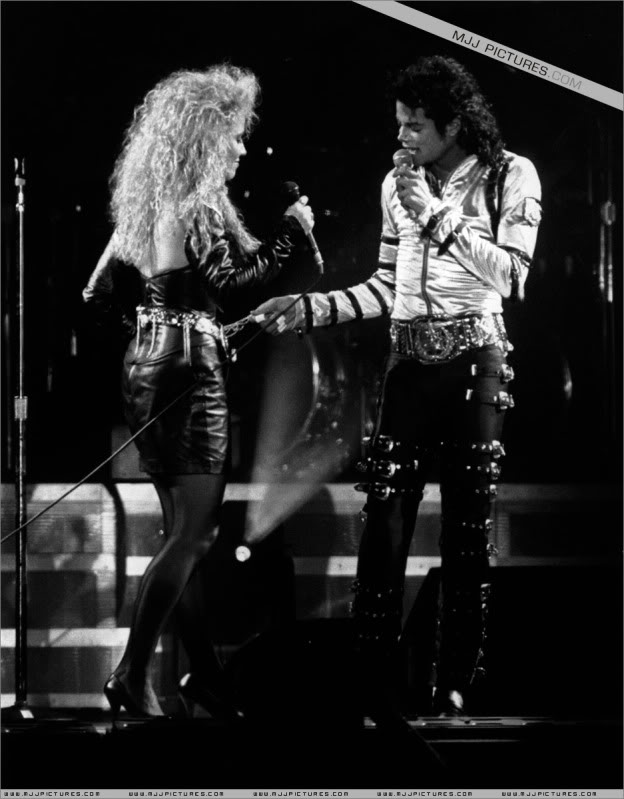 Bad World Tour Onstage- Various 100