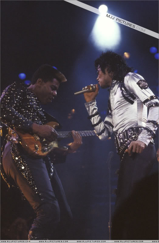 Bad World Tour Onstage- Various 102