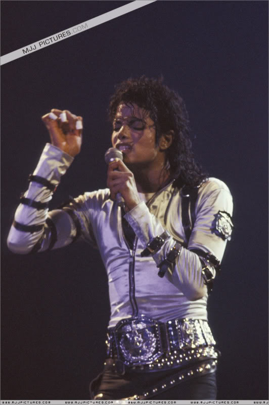 Bad World Tour Onstage- Various 103
