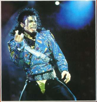 Dangerous World Tour Onstage- Jam 105-2