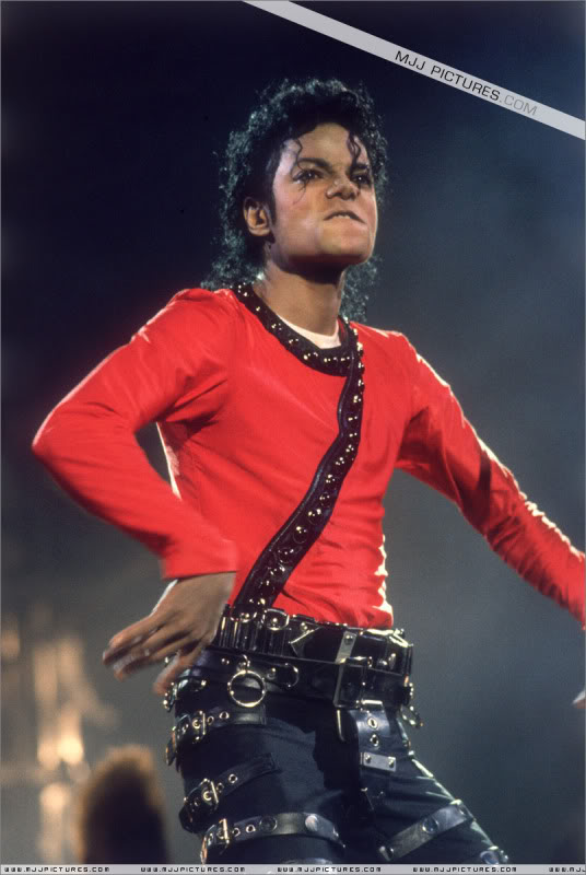 Bad World Tour Onstage- Various 122