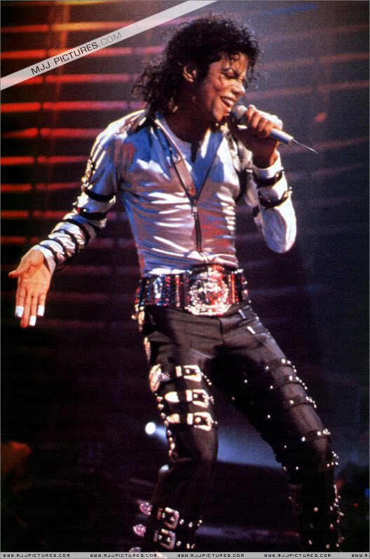 Bad World Tour Onstage- Various 126-1