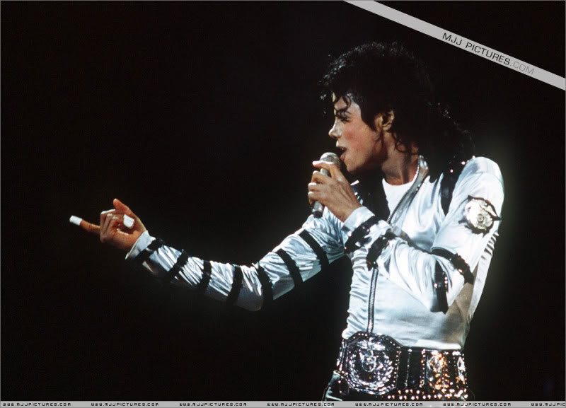 Bad World Tour Onstage- Various 130-1