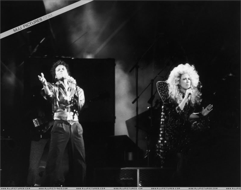 Bad World Tour Onstage- Various 135-1