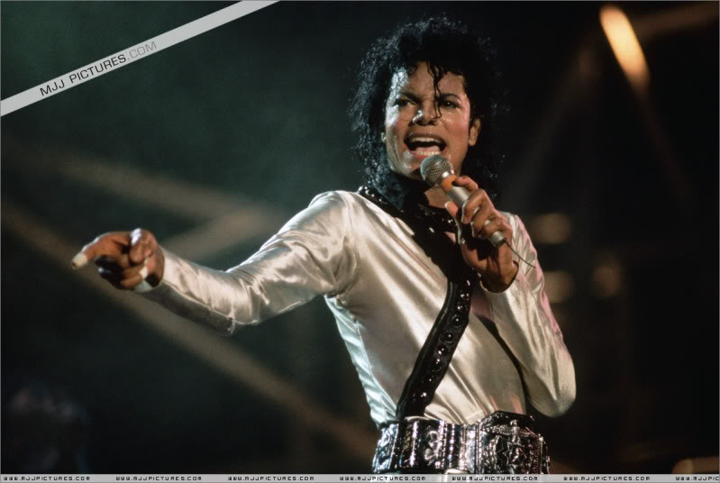Bad World Tour Onstage- Various 136-1