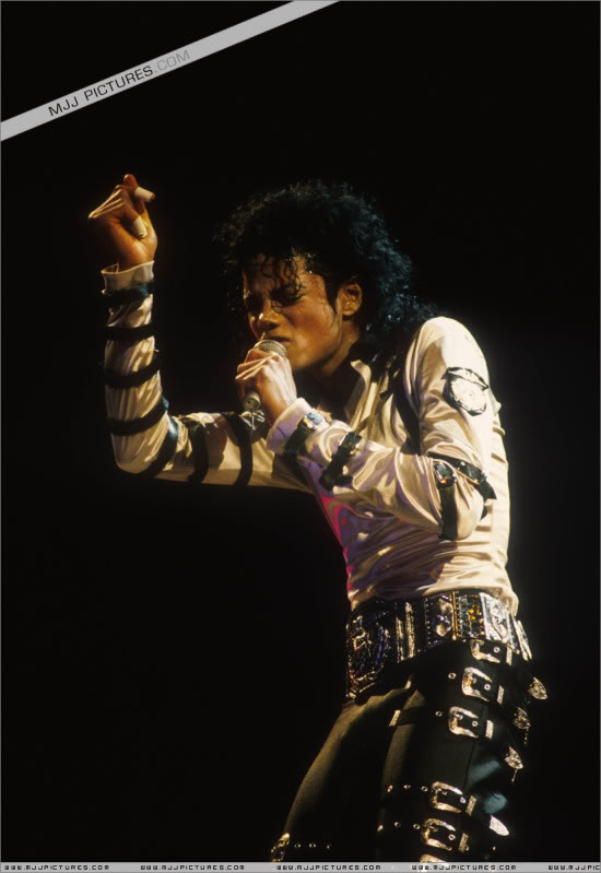 Bad World Tour Onstage- Various 139