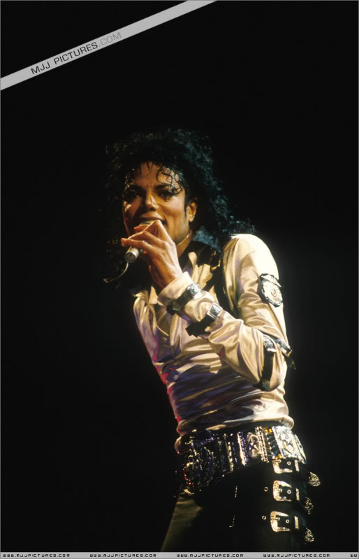 Bad World Tour Onstage- Various 140