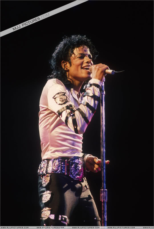 Bad World Tour Onstage- Various 141-1
