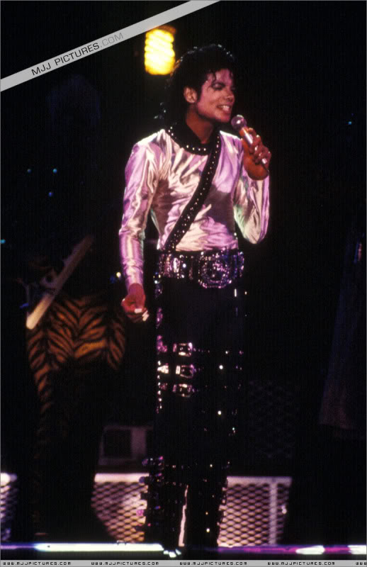 Bad World Tour Onstage- Various 143