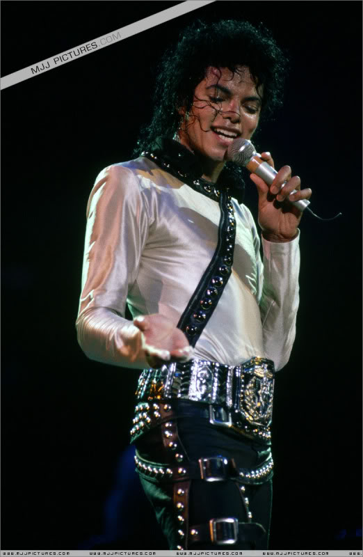 Bad World Tour Onstage- Various 144