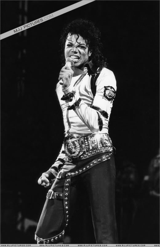 Bad World Tour Onstage- Various 148-1