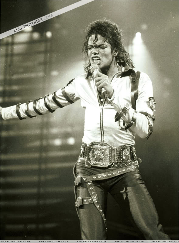 Bad World Tour Onstage- Various 153