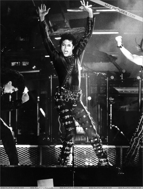 Bad World Tour Onstage- Various 155-1