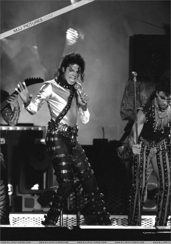 Bad World Tour Onstage- Various 156