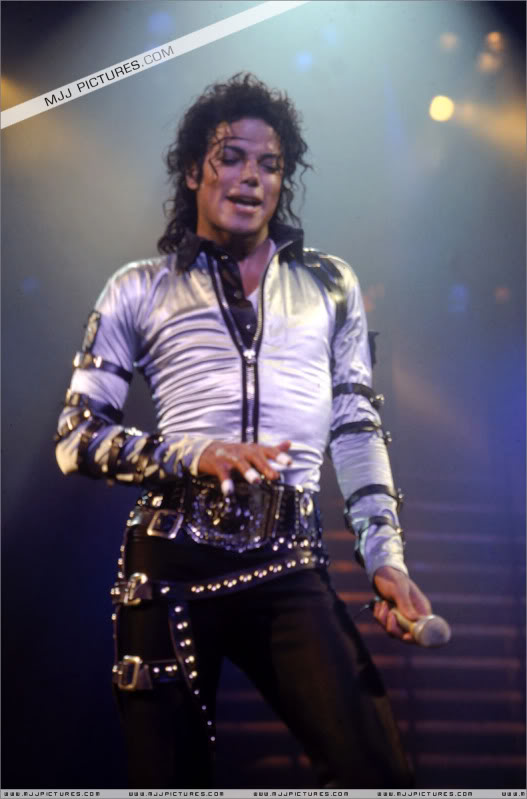 Bad World Tour Onstage- Various 158