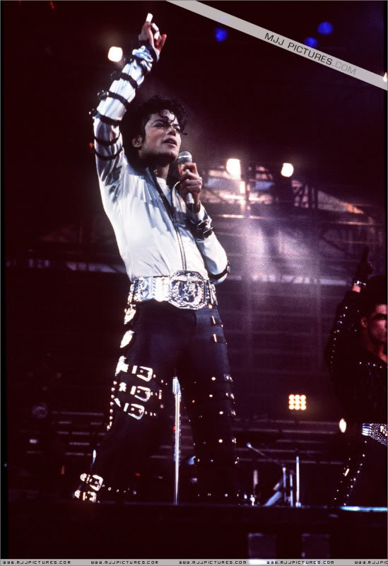 Bad World Tour Onstage- Various 159